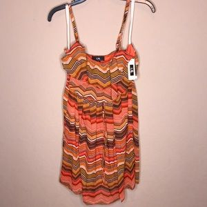 Dillard's striped short dress
